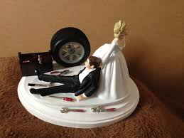 mechanic cake topper cake topper wedding day groom auto mechanic grease