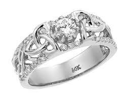 celtic gold rings images White gold celtic knot diamond wedding ring jpg