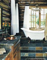 Log Cabin Bathroom Ideas Colors 55 Best Bathroom Images On Pinterest Room Dream Bathrooms And