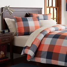 champion check duvet cover sham pbteen