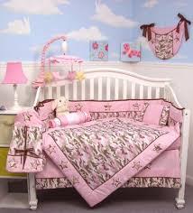 Soho Crib Bedding Set Soho Pink Camo Baby Crib Nursery Bedding Set 13 Pcs Included