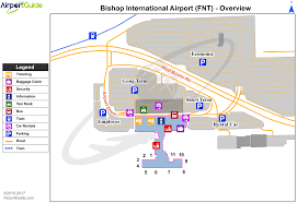 Chicago Airport Terminal Map by Flint Bishop International Fnt Airport Terminal Maps