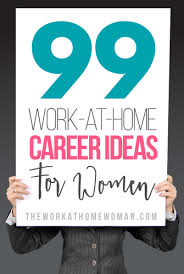 work at home career ideas for