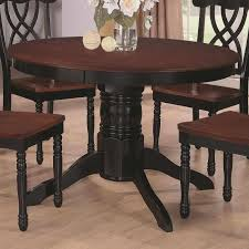 search furnitureus two two tone dining room tables tone round