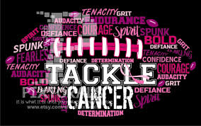 Halloween Breast Cancer Shirts by Tackle Cancer Football Design Breast Cancer Awareness Breast