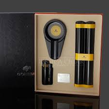 cigar gift set cohiba black cigar gift set travel metal cigarette cigar