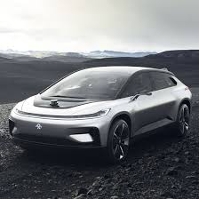 tesla electric car faraday future unveils electric car to rival tesla u2013 but its