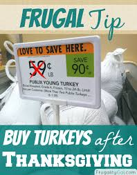 frugal tip buying turkey after thanksgiving savor savvy