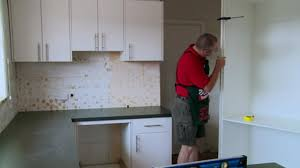 How To Fix Kitchen Cabinet Hinges by How To Hang Corner Cabinet Doors Bunnings Warehouse