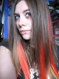 highlights underneath hair 30 blonde hair with red highlights which are in trend creativefan