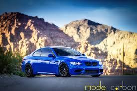 Bmw M3 Blue - santorini blue bmw e92 m3 by mode carbon gtspirit