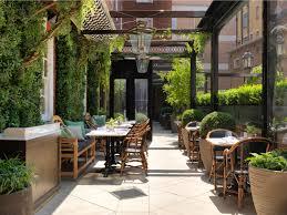 brunch outdoor dining london dalloway terrace