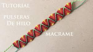 pulseras de hilo anchas faciles de hacer friendship bracelets