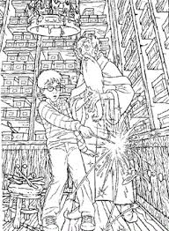 kids fun 89 coloring pages harry potter