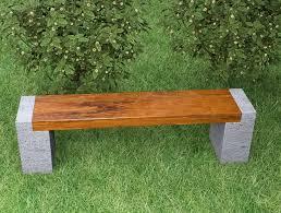 garden bench plans into the glass concrete garden bench to