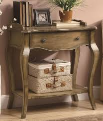 Table With Shelf Underneath by Furniture Rustic Honey Wooden Entryway Table With Undershelf For