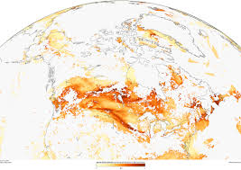 North America Climate Map by Wildfires Burn Up Western North America Noaa Climate Gov