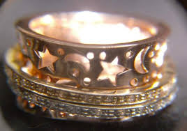 worry ring s jewelry shop 14k gold luck wide worry ring sz 6
