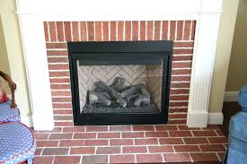 red brick fireplace surround ideas how update dark paint painting