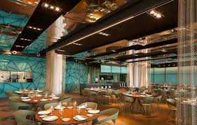 restaurant decor gold and turquoise restaurant decor in barcelona interiorzine
