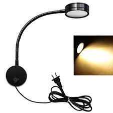 wall sconce reading light flexible led wall l 5w gooseneck wall mount sconce reading light