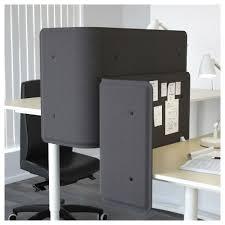 separateur bureau bekant séparateur bureau gris 55 cm ikea