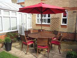 6 Seater Patio Furniture Set - wooden 6 seater garden furniture set in rayleigh essex gumtree