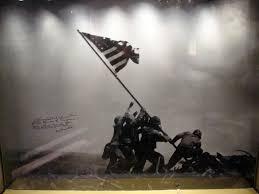 Soldiers Lifting Flag Iwo Jima Flag Raising Wallpaper Group 86