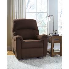 Wall Hugger Recliners Signature Design By Ashley Otwell Wall Hugger Recliner In Java
