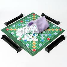 Table Jigsaw Aliexpress Com Buy English Crossword Scrabble Spelling Word Game