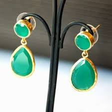 green earrings green earrings vintage dresses