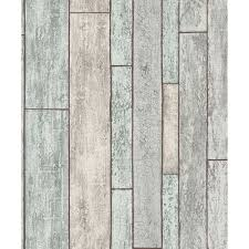 Faux Wood Wallpaper by Erismann Distressed Wooden Beam Pattern Wallpaper Wood Effect 6943 10