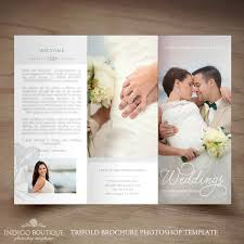 wedding photography pricing wedding photography trifold brochure template client welcome
