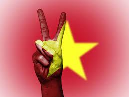 Viet Nam Flag Art Background Banner Conceptual Country Flag Patriotic