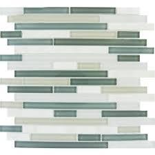keystone blend interlocking 12 in x 12 in x 8 mm glass stone