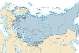 former soviet union map the former soviet union
