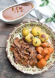 slow cooker italian pot roast valerie u0027s kitchen
