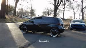 nissan versa hatchback 2011 nissan versa hatchback on 22s kurv royalty wheels mlk park memphis