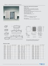 tibox steel wall mounting enclosures electrical control board
