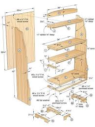 Woodworking Plans Wall Bookcase by 32 Best Knockdown Bookcase Plans Images On Pinterest Bookcase