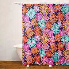 No Liner Shower Curtain Crayola Dreaming Of Daisies No Liner Shower Curtain Jcpenney
