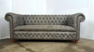 Fabric Chesterfield Sofa Bed Grey Chesterfield Sofa Modern Handmade 3 Slate Grey Velvet Fabric