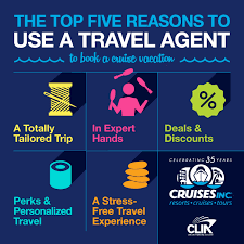 why use a travel agent images Cruise with christine pappin clia comments on travel agent myths png