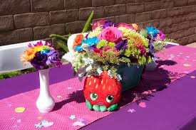 Centerpieces Birthday Tables Ideas by Kara U0027s Party Ideas Table Centerpieces From A Shopkins Birthday