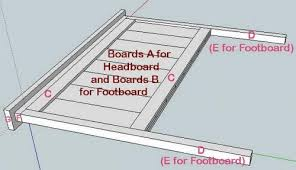 What Is The Measurements Of A King Size Bed Ana White Full Size Farmhouse Bed Diy Projects
