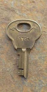 corbin cabinet lock co original antique key ttc4 trunk wardrobe corbin cabinet lock co