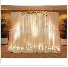 wedding backdrop reception top lovely 10x10 backdrop wedding reception curtain