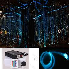 Christmas Tree With Optical Fiber Lights - factory plastic fiber optic led lighting palm tree neon light