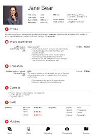 Sites To Upload Resume Free Resume Templates New Formats Build Your Own Latest Format
