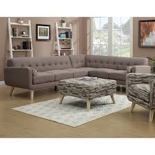 shop emerald home furnishings 3 piece wiley mushroom living room